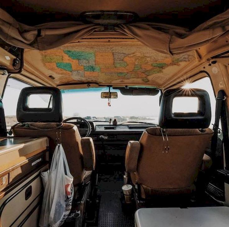 Awesome 95 Best Rv Camper Van Interior Decorating Ideas