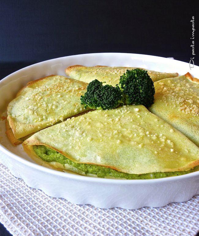 Di pasta impasta: Crêpes al pesto di broccoli