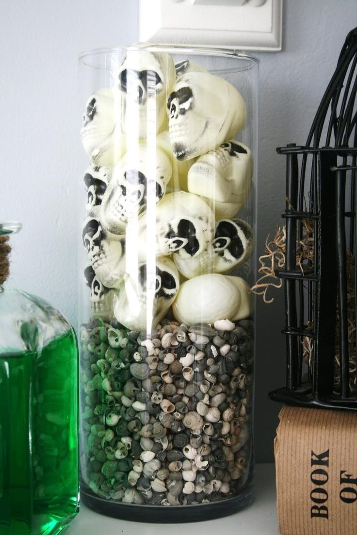 halloween decorating ideas tiny spiral shells look a bit like teeth