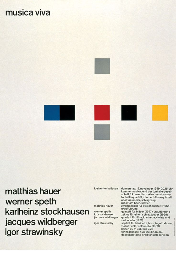 Josef Muller-Brockmann repinned by Awake — http://designedbyawake.com