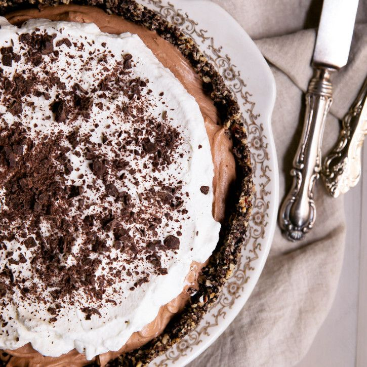 Deep Dish French Silk Pie mit Haselnuss – Oreo – Plätzchenkruste | Ambitionierte Küche   – Autumn Catering