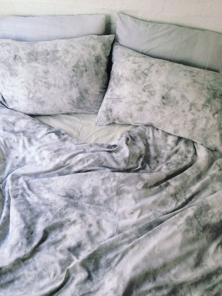 Haze Marble Quilt Cover Set   By SUKU Home Lucidity Collection   100% Bamboo Rayon #bedding #interiordesign #home