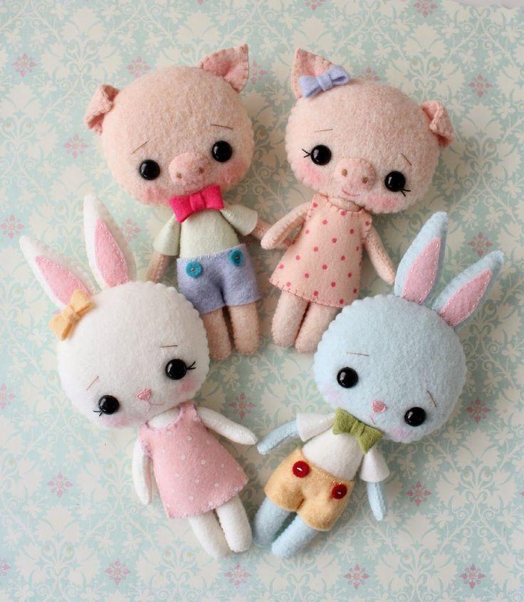 Gingermelon Dolls