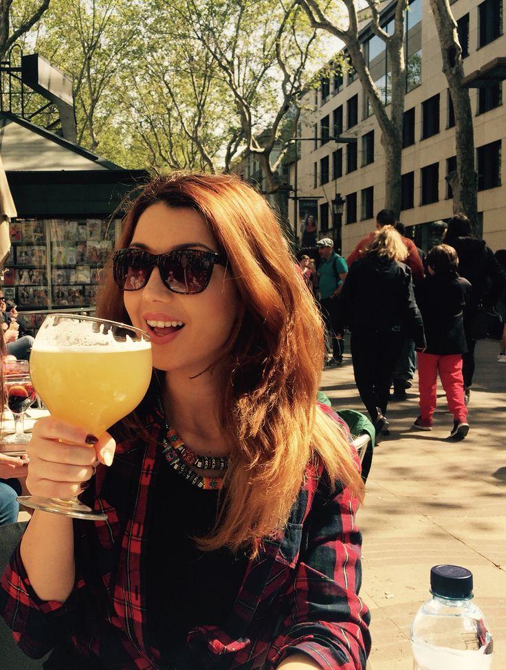 Cerveza con limon in Barcelona