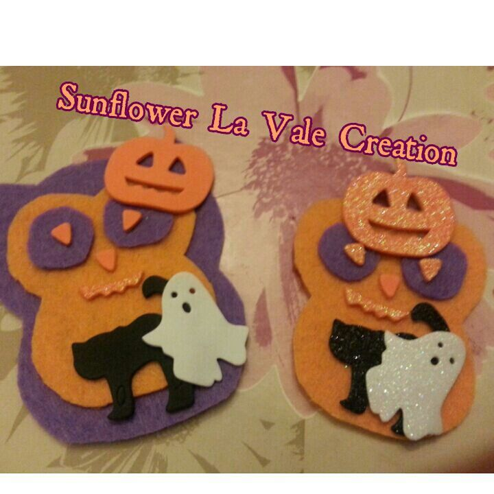 Gufi calamite a tema halloween =)