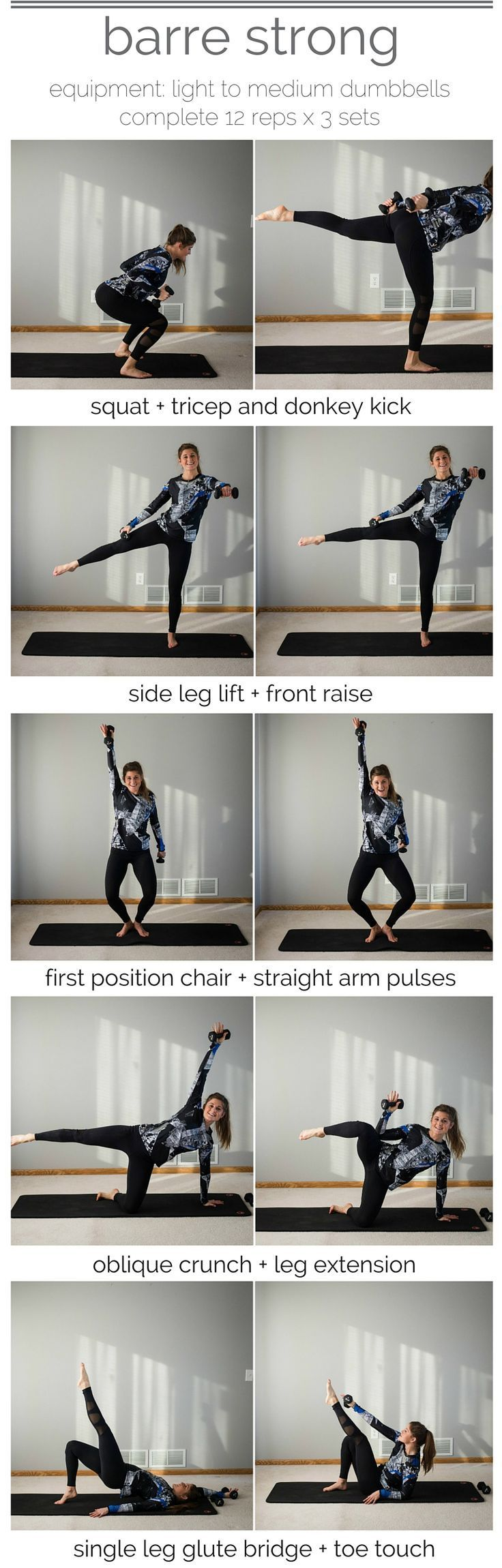 barre strong workout pin barre + strength training I barre workout I barre I strength training I workouts at home I workouts for women II Nourish Move Love #strengthtraining #weightlifting #workouts