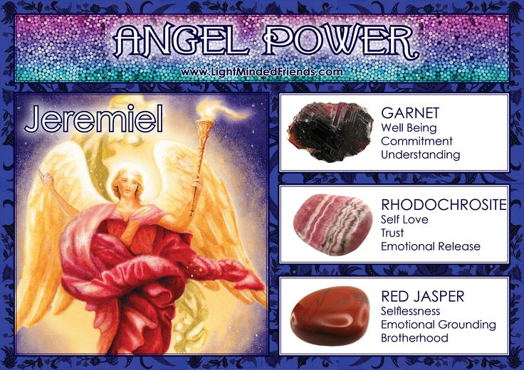 Angel Power: Jeremiel!