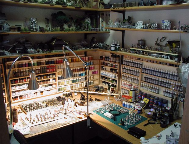 Need to get my painting stuff organized cool wargame Builders in my area