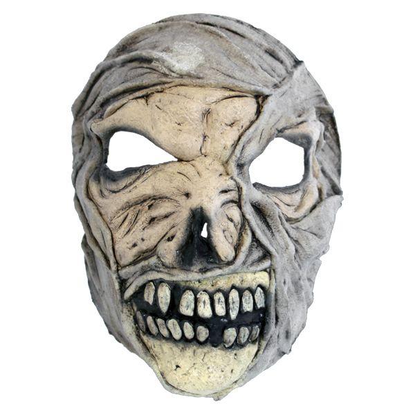 Mumiemaske - Skumle halloween masker