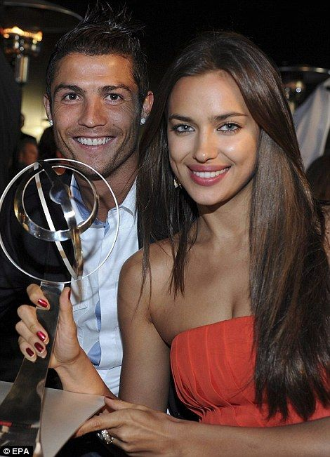 No need to spend his fortune: The model is just as successful as her boyfriend Cristiano Ronaldo