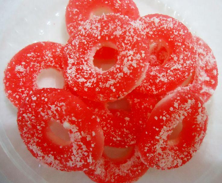 Não Perca!l Balinha de gelatina tipo fini  - Aprenda como fazer a receita - # #doces #gelatina