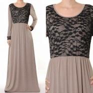 Royal Blue Maxi Abaya Dress - Royal Hijabs