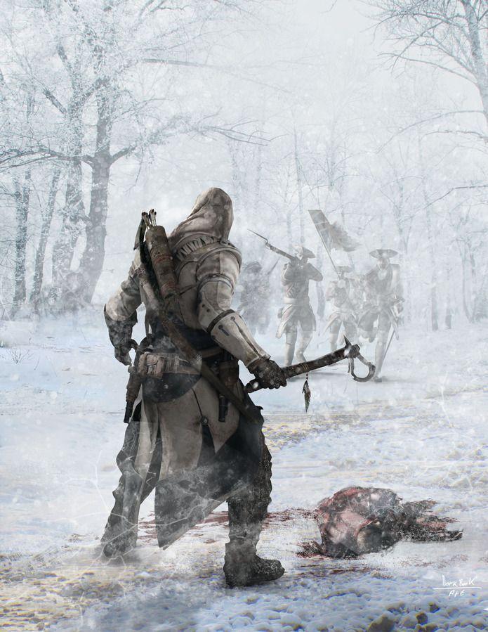 Assassin's Creed III art