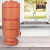Filtro de Barro 1 vela 4 litros tradicional (cod9)