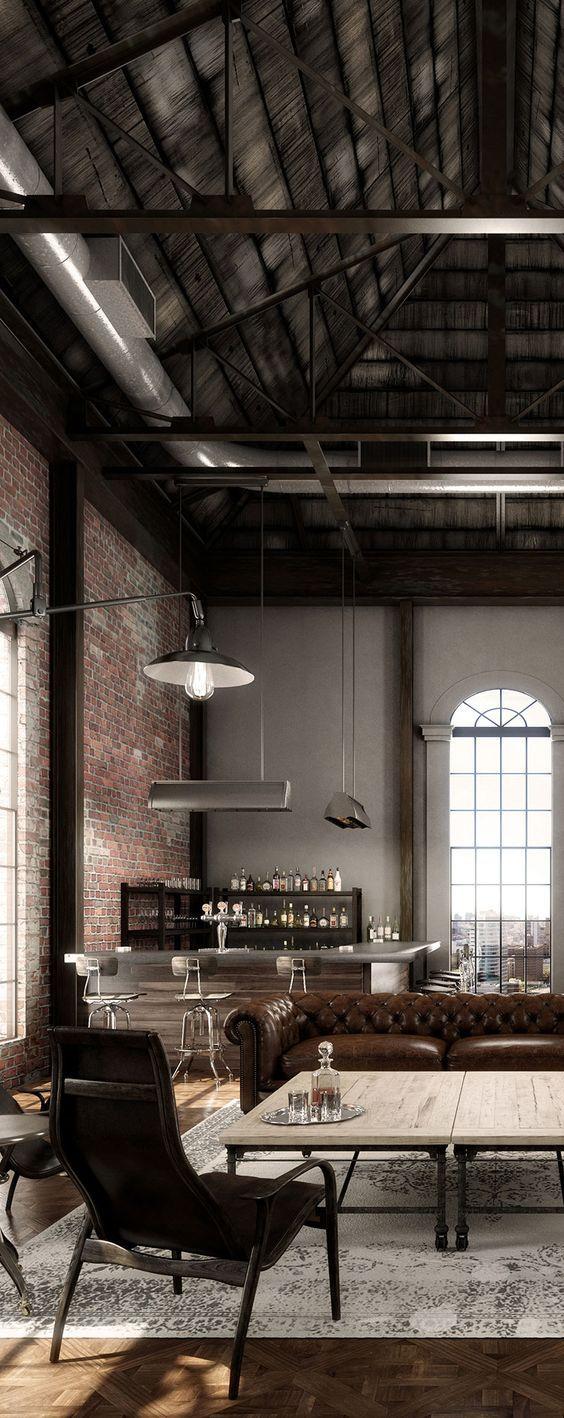 13 best INSPIRE   Luxe Industrial images on Pinterest   Arquitetura ...
