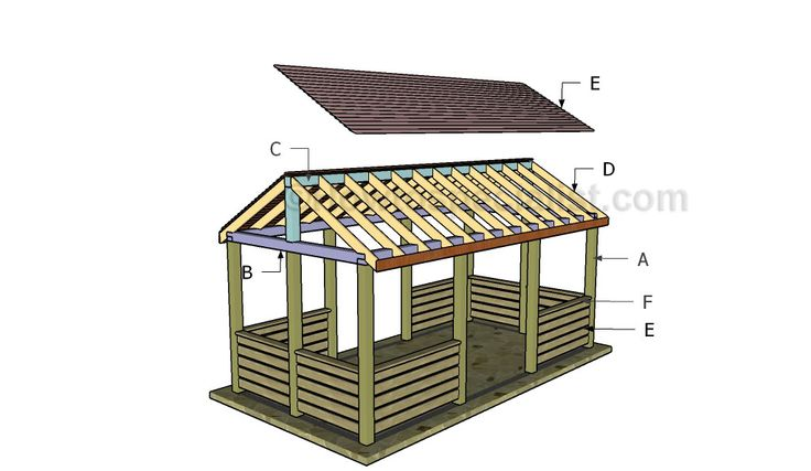 how to build a octagon gazebo step by step
