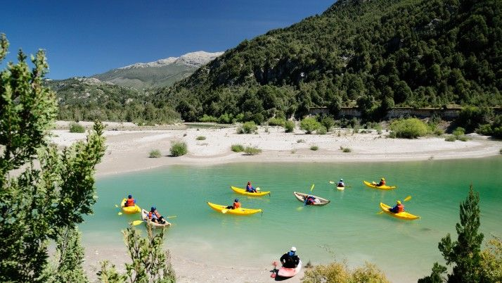 Duckies on the Espolon River with H20 Patagonia | 3baysover  http://www.3baysover.com/pub/tour/448/white-water-rafting-the-futaleufu-river-h2o-patagonia-futaleufu-los-lagos-region-chile#ad-image-19