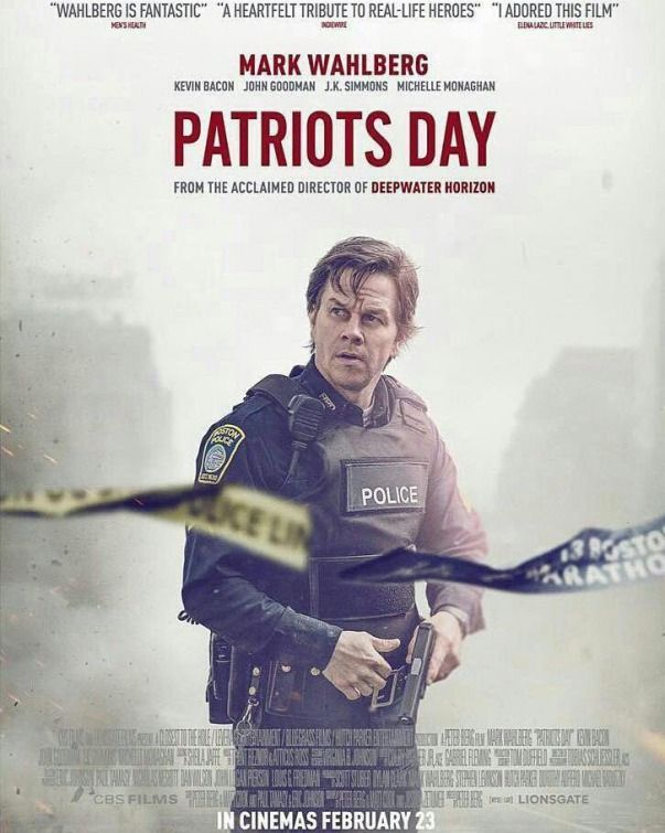 The most recent Patriots Day artwork and it is breath taking. Mark Wahlberg is going to be excellent in this movie.