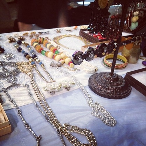vintage jewelry at dekalb market