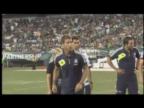 Real Madrid at Steelers vs. Eagles Preseason Game - August 9, 2012