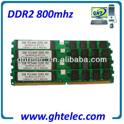 2013 the newest cheap ddr2 ram 2gb