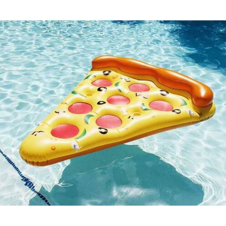 New Pool Pizza Slice Ride On Swimming Fun Water Sports Lounger Inflatable Float Toy Home Garden by ReingrindStore on Etsy https://www.etsy.com/listing/272339000/new-pool-pizza-slice-ride-on-swimming