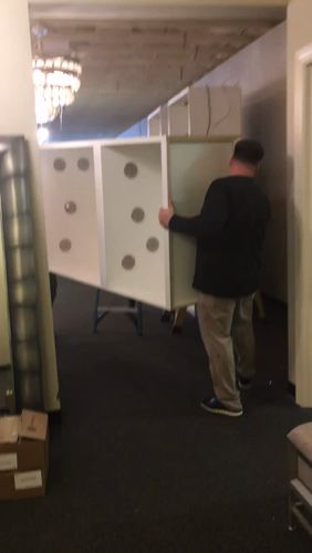 A work in progress! Behind the scenes of @techlighting display install at #LightingFirst-Ft Myers, FL. Check back with us soon for the finished display! https://video.buffer.com/v/5a845a75846cf757162b1cad