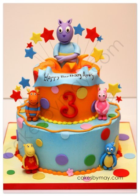 40 best Cakes based on Kids TV characters images on Pinterest