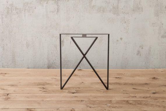 Inside Out Table Leg metal table leg diy by DIYFurniture on Etsy