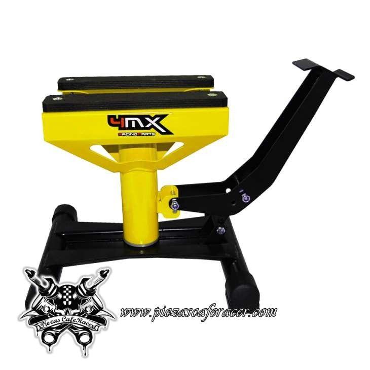 51,5€ - ENVÍO GRATIS - Caballete Elevador de Moto 4Mx Color Amarillo