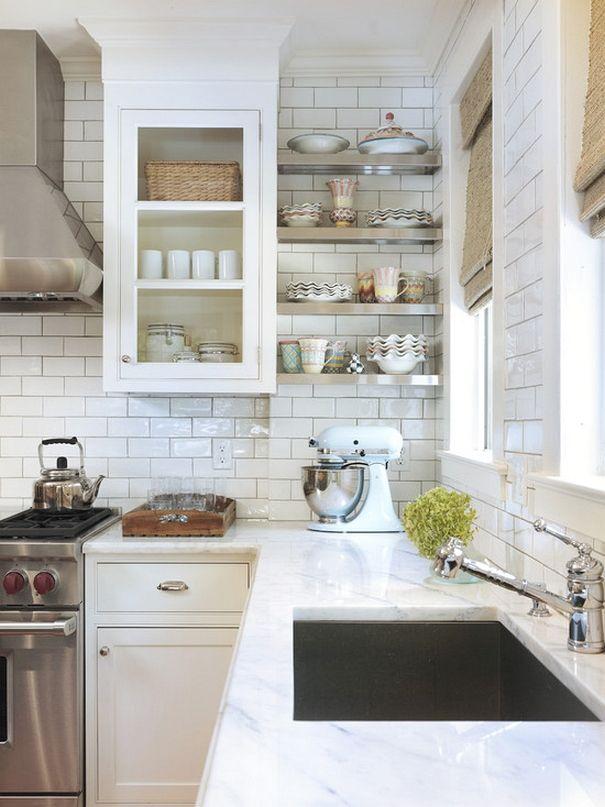 80 inspiring traditional kitchen designs - Galeere Kche Beleuchtung Ideen Bilder