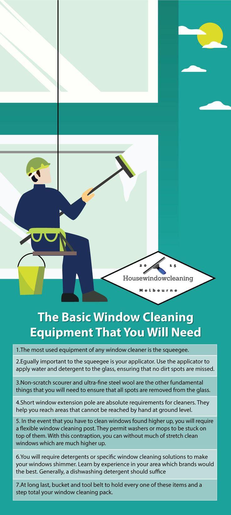 Best thing to clean windows with - The Basic Window Cleaning Equipment That You Will Need Melbourne Window Cleaning