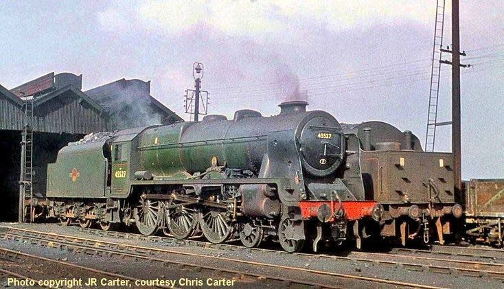 David Heys steam diesel photo collection - 27 - BR LONDON MIDLAND - 1
