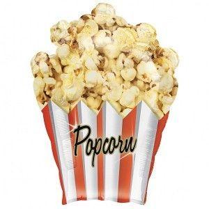Big fat Popcorn bucket. Balloon delivery UK.