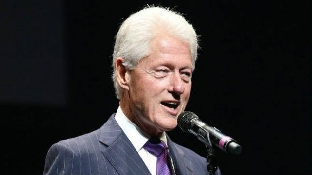 """Bill Clinton: Going vegan has kept me alive:  """"[My doctor] asked me to eat organic salmon once a week,"""" Clinton said. """"I do, but I'd just as soon be without it."""