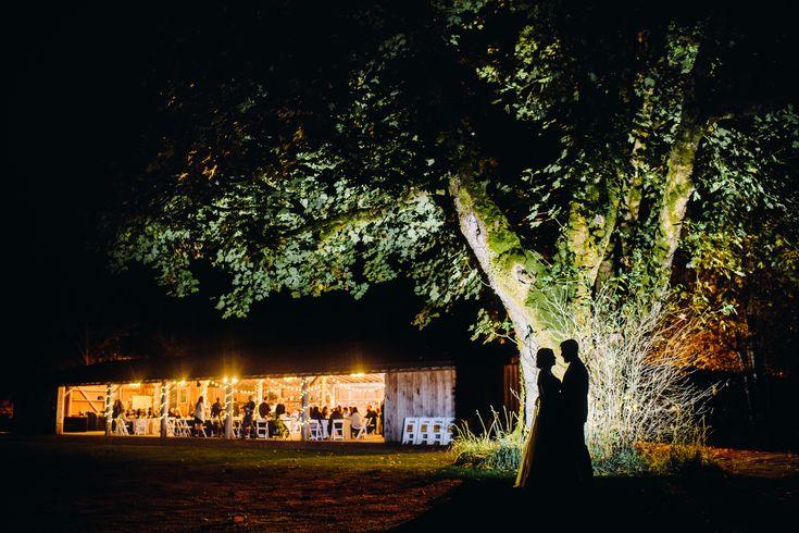 pomeroy farm night wedding photo