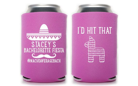 Custom Bachelorette Party Favor I'd Hit That Can by PaperLeigh