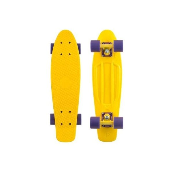 """Penny Skateboards Penny Classic 22"""" Plastic Skateboard Complete ($90) ❤ liked on Polyvore featuring filler"""