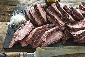 Traeger beef tri-tip