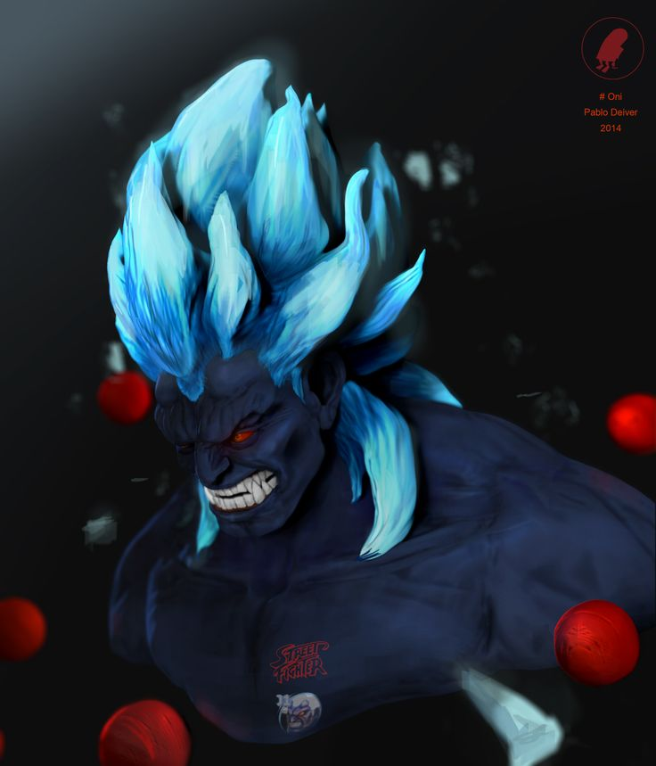 Fan art Oni Street Fighter
