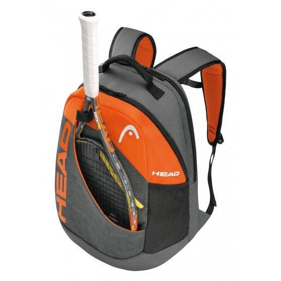 In de Rebel backpack #tennistas is plaats voor een racket. Er is ook een handig schoenenvak aanwezig.