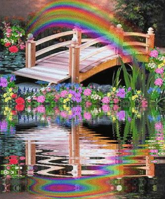 The Rainbow Bridge - bereavement comfort for grieving pet owners