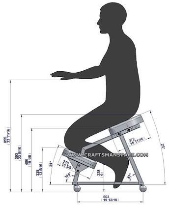 kneeling chair design plan - Поиск в Google