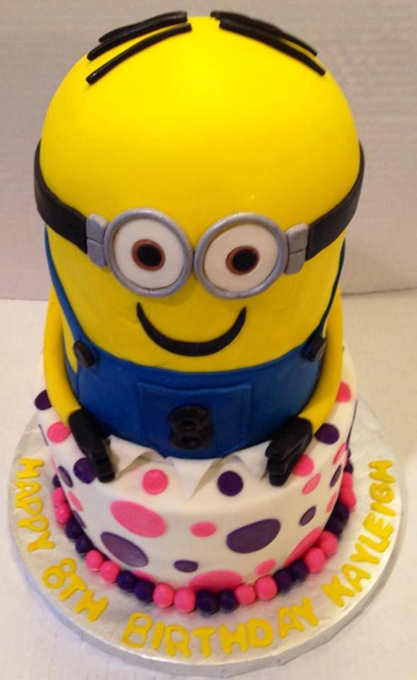 25 best Cool Cakes images on Pinterest Birthday cakes Minion