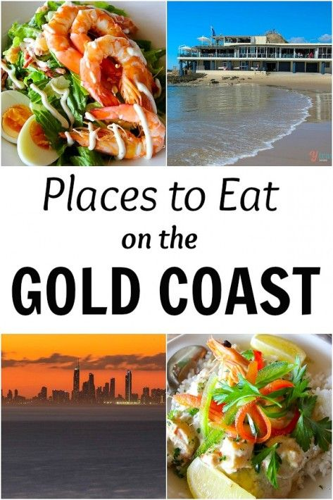 13 Places to eat on the Gold Coast, Queensland, Australia