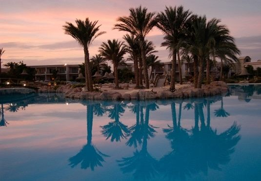 Experience amazing snorkelling and modern luxury on a private beach in Sharm El Sheikh, with an all-inclusive stay