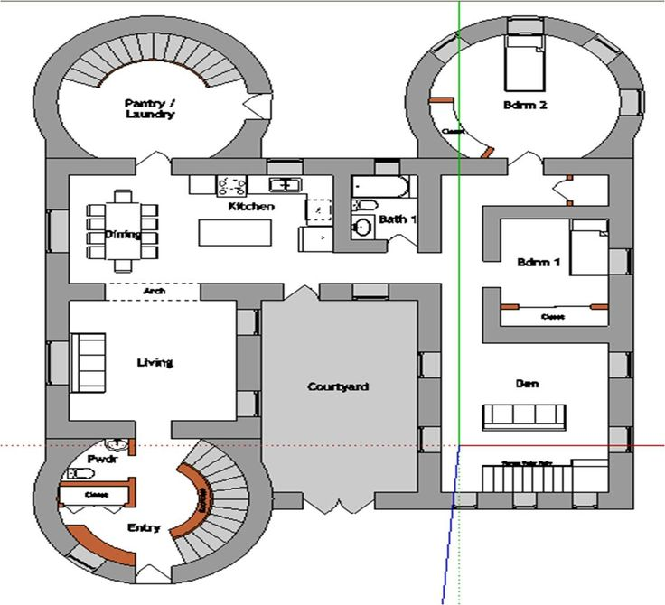 744 best The Floor Plans. images on Pinterest | Architecture ...