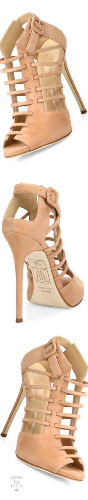 Giuseppe Zanotti for Jennifer Lopez Lynda Crystal Open-Toe 120mm-Bootie