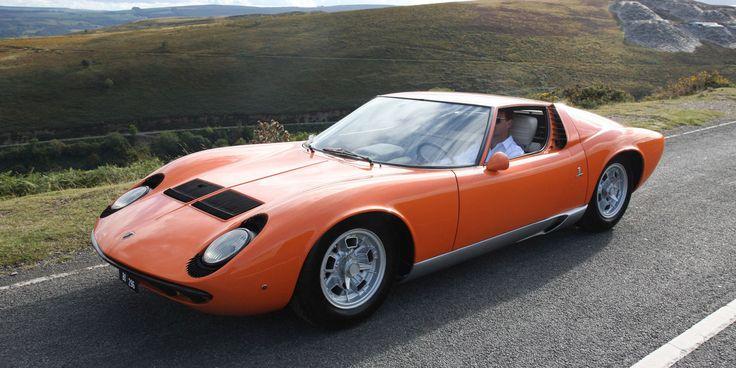 """Lamborghini Miura From """"The Italian Job"""" Is For Sale  - RoadandTrack.com"""