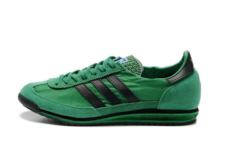 cheap Adidas SL 72 Vintage Fresh Green / Black